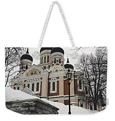 Tallinn Estonia Weekender Tote Bag