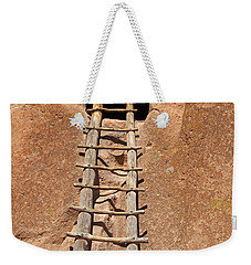 Talus House Front Door Bandelier National Monument Weekender Tote Bag