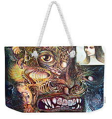 The Beast Of Babylon Weekender Tote Bag