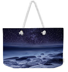 The Cosmos Weekender Tote Bag by Jorge Maia