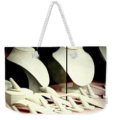 Weekender Tote Bag featuring the photograph New Orleans Heist In The French Quarter by Michael Hoard