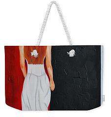 The Mystery Woman Weekender Tote Bag
