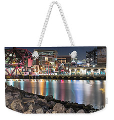 Third Street Bridge Weekender Tote Bag