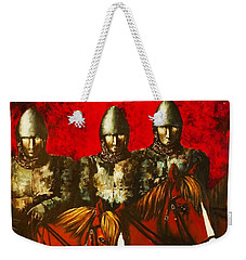 Three Knights Weekender Tote Bag