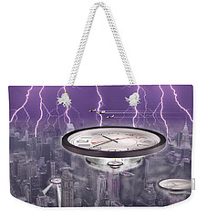 Time Travelers Weekender Tote Bag by Mike McGlothlen