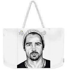Total Recall  Colin Farrell Weekender Tote Bag