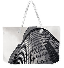 Trump Tower Chicago Weekender Tote Bag by Adam Romanowicz