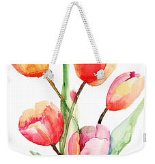 Tulips Flowers Weekender Tote Bag