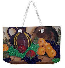 Tuscany Treats Weekender Tote Bag