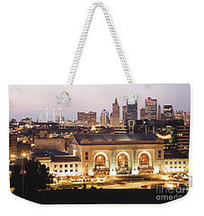 Union Station Evening Weekender Tote Bag