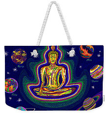 United Planets Of Buddha Weekender Tote Bag