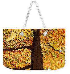 Up Tree Weekender Tote Bag