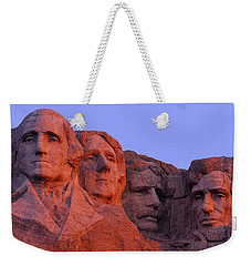 Usa, South Dakota, Mount Rushmore Weekender Tote Bag by Panoramic Images