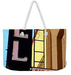 Vacancy Weekender Tote Bag by Valerie Reeves