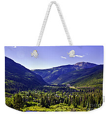 Vail Valley View Weekender Tote Bag