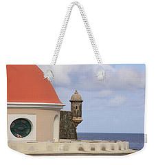 Weekender Tote Bag featuring the photograph Viejo San Juan by Daniel Sheldon