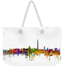 Washington Dc Skyline Weekender Tote Bag by Michael Tompsett