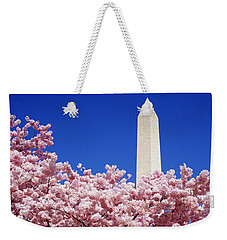 Washington Monument Washington Dc Weekender Tote Bag by Panoramic Images