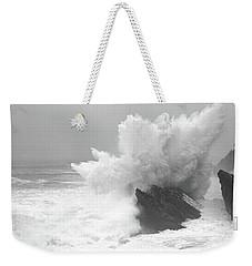 Waves Breaking On The Coast, Shore Weekender Tote Bag