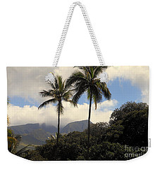 West Maui Mountains Weekender Tote Bag