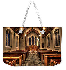 Westminster Presbyterian Church Weekender Tote Bag by Amanda Stadther