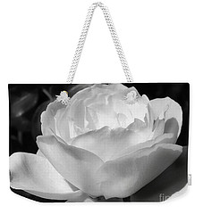 White Rose Weekender Tote Bag by Amy Williams