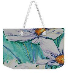 Wild Daisys Weekender Tote Bag by Chrisann Ellis