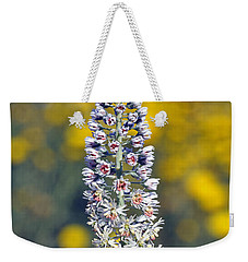 Wild Mignonette Flower Weekender Tote Bag by George Atsametakis