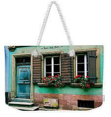 Windows And Doors 6 Weekender Tote Bag by Maria Huntley