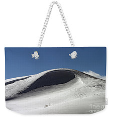 Winter Drift Weekender Tote Bag