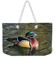Wood Duck Beauty Weekender Tote Bag