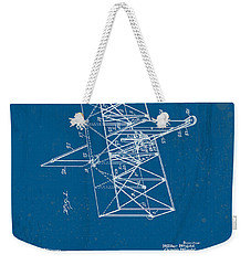 Wright Brothers Flying Machine Patent Weekender Tote Bag by Marlene Watson