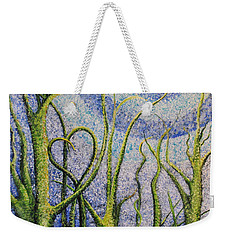 You Always Know Weekender Tote Bag by Holly Carmichael