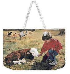 20 Minute Orphan Weekender Tote Bag by Lori Brackett