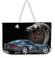 2002 Dodge Viper Weekender Tote Bag