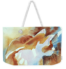 2004 Cat On The Prowl  I  Weekender Tote Bag