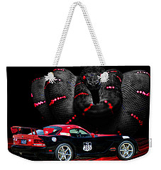 2010 Dodge Viper Weekender Tote Bag