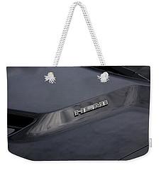 2011 Dodge Challenger Rt Black Weekender Tote Bag