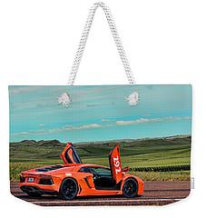 2012 Lamborghini Aventador Weekender Tote Bag