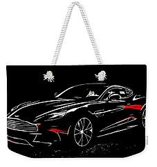 2013 Aston Martin Vanquish Weekender Tote Bag