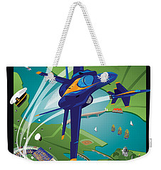 2014 Usna Commissioning Week Weekender Tote Bag