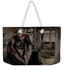 2050 Post Apocalyptic Scene Weekender Tote Bag by Galen Valle