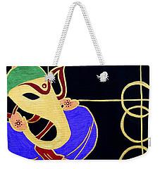 22 Siddhivinayaka Ganesh Weekender Tote Bag by Kruti Shah
