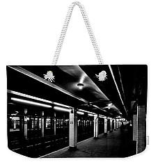 23rd Street Station Weekender Tote Bag by Benjamin Yeager