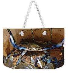 24 Crab Challenge Weekender Tote Bag