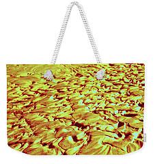 24 Kt Gold Ripples Weekender Tote Bag