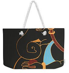 24 Maheshwaram Ganesh Weekender Tote Bag by Kruti Shah