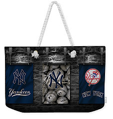 New York Yankees Weekender Tote Bag