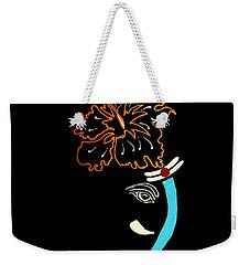 27 Mundakarama Ganesh Weekender Tote Bag by Kruti Shah