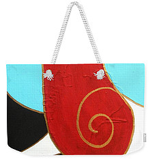 28 Shashwat Ganapati Weekender Tote Bag by Kruti Shah
